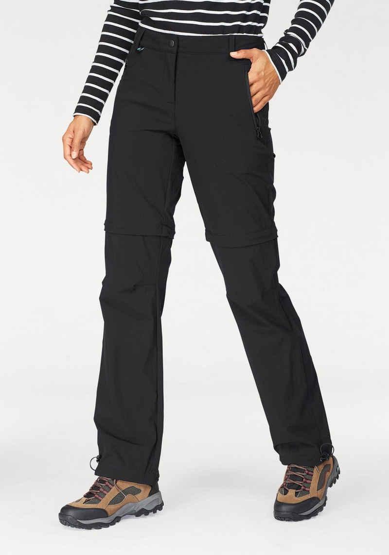 Polarino Trekkinghose mit abzippbaren Beinen