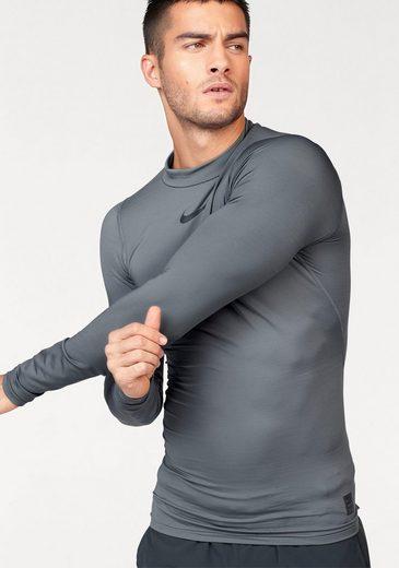 Nike Funktionsshirt M NIKE PRO WM TOP LONGSLEEVE COMP MOCK