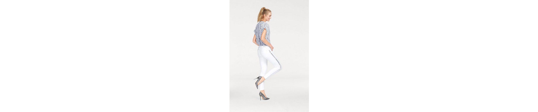 Cross Jeans® Schlupfbluse, mit Allover-Print