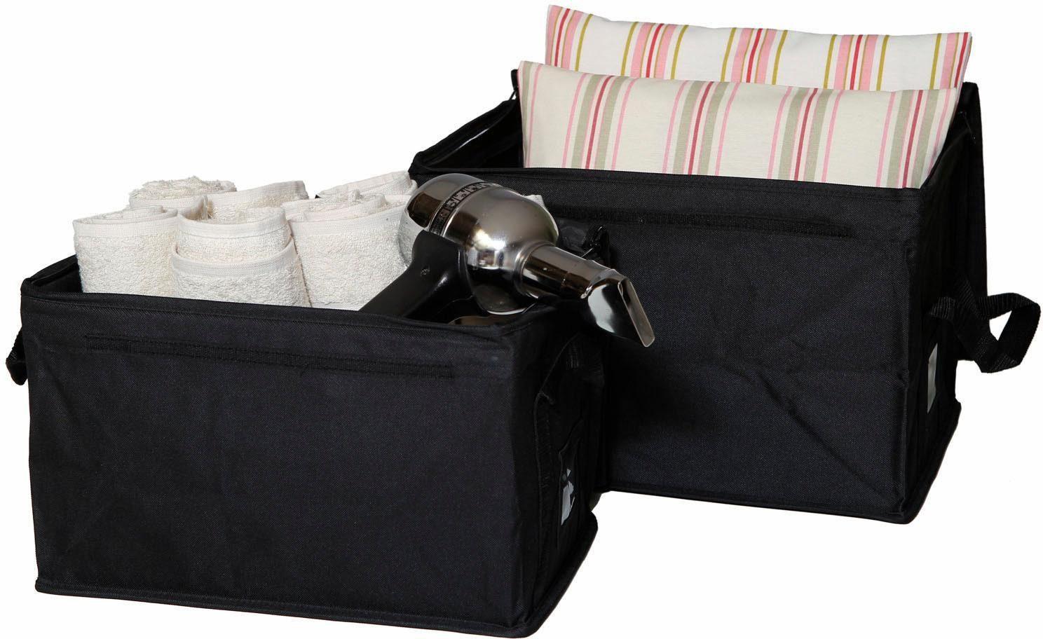 Home affaire Faltboxen »Nylon« (2er Set)