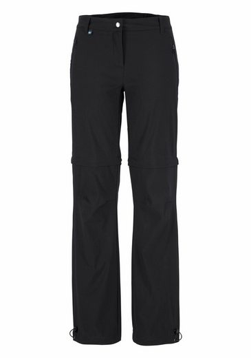 Polarino Trekking Trousers, With Zip-off Legs