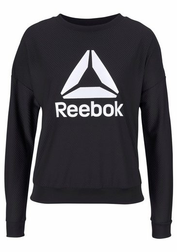 Reebok Funktionsshirt WORKOUT READY MESH CREW NECK