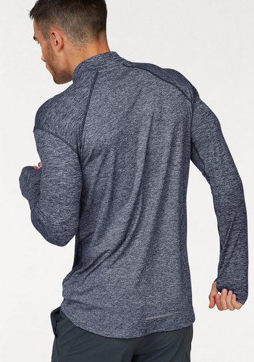 Nike Laufshirt DRY ELEMENT TOP HALFZIP