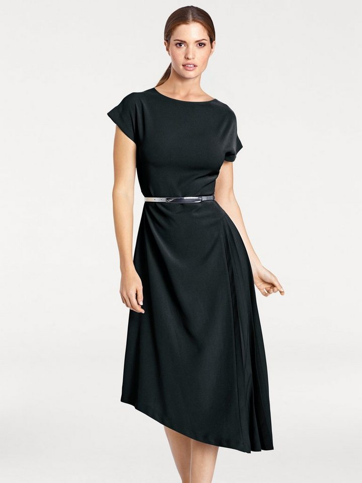 b945e3ce1fff heine TIMELESS Kleid mit Bindegürtel online kaufen   OTTO