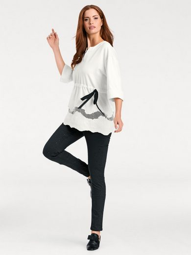 ASHLEY BROOKE by Heine Sweatshirt mit Stickerei
