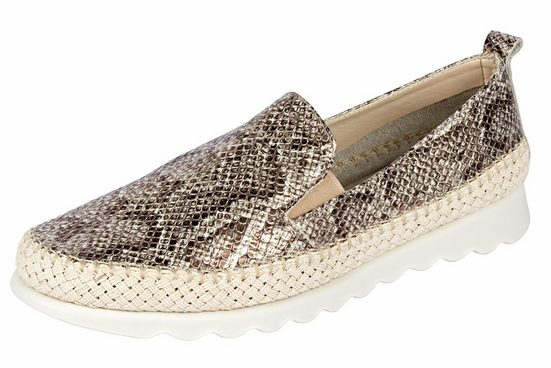 Flexx Slipper in Snake-Skin-Prägung