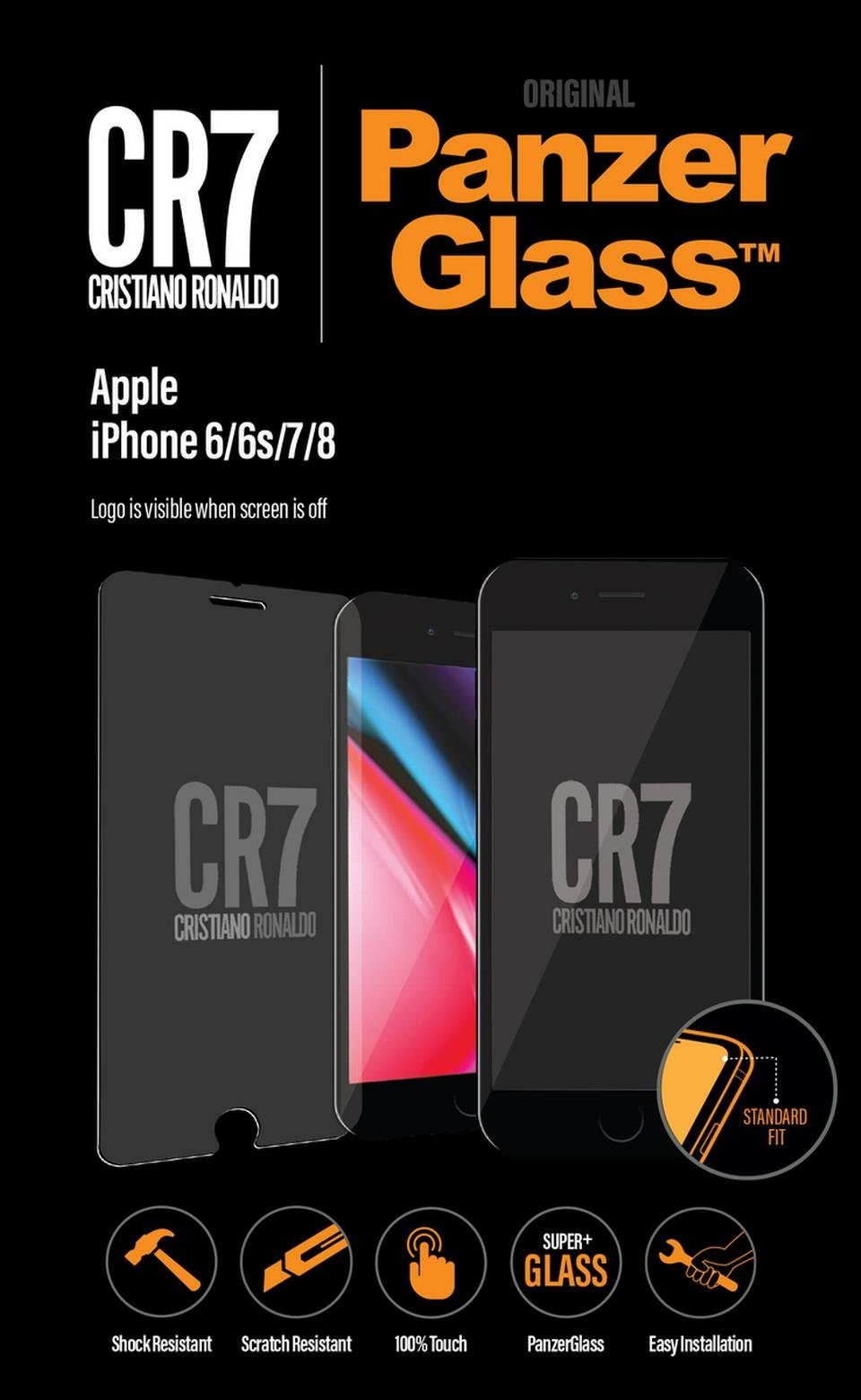 Panzerglass Christiano Ronaldo Displayschutzglas »für Apple iPhone 6/ 6S/ 7/ 8 - CR7 Edition«