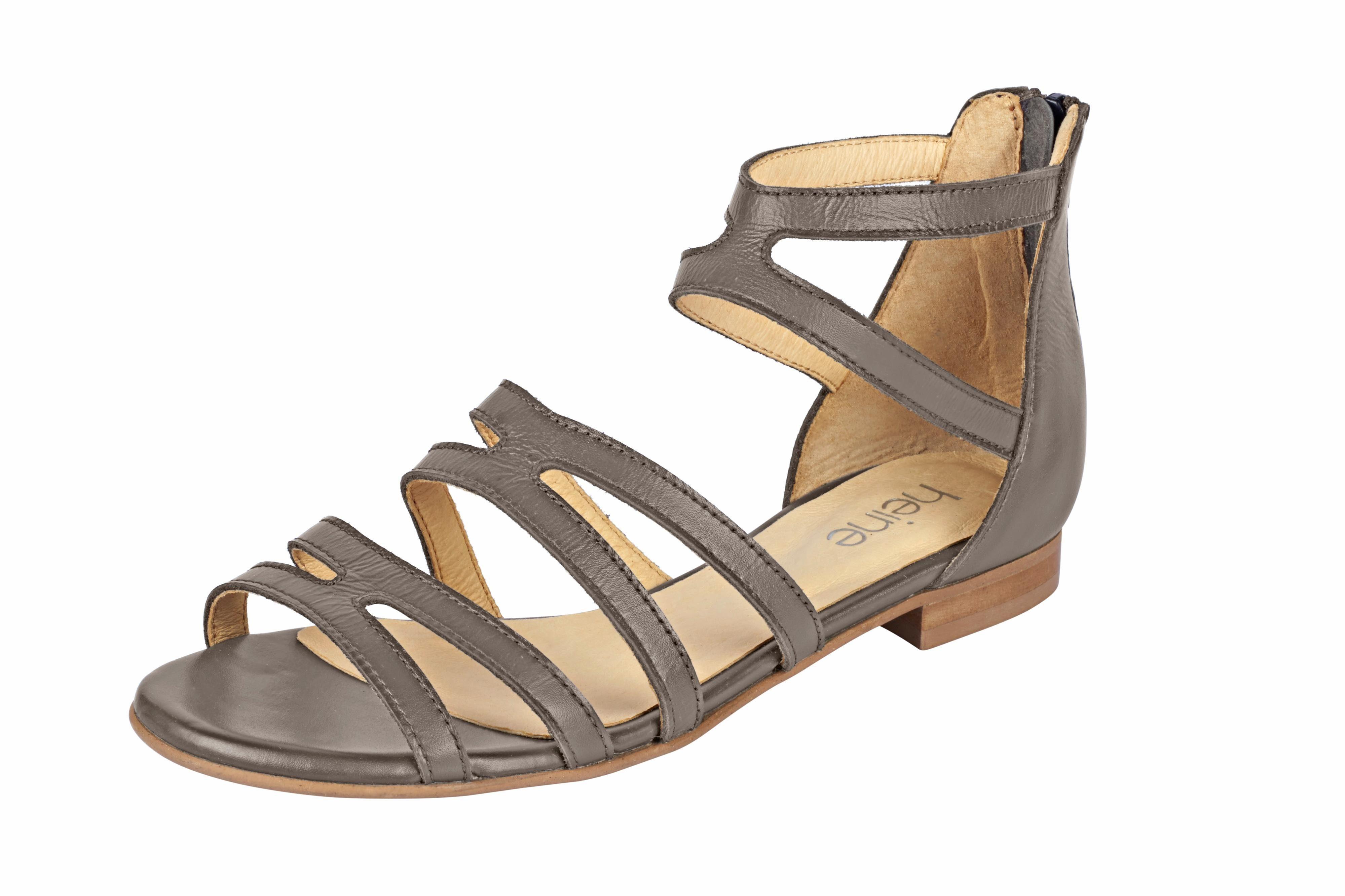 Heine Sandalette mit Fesselriemchen online kaufen  taupe