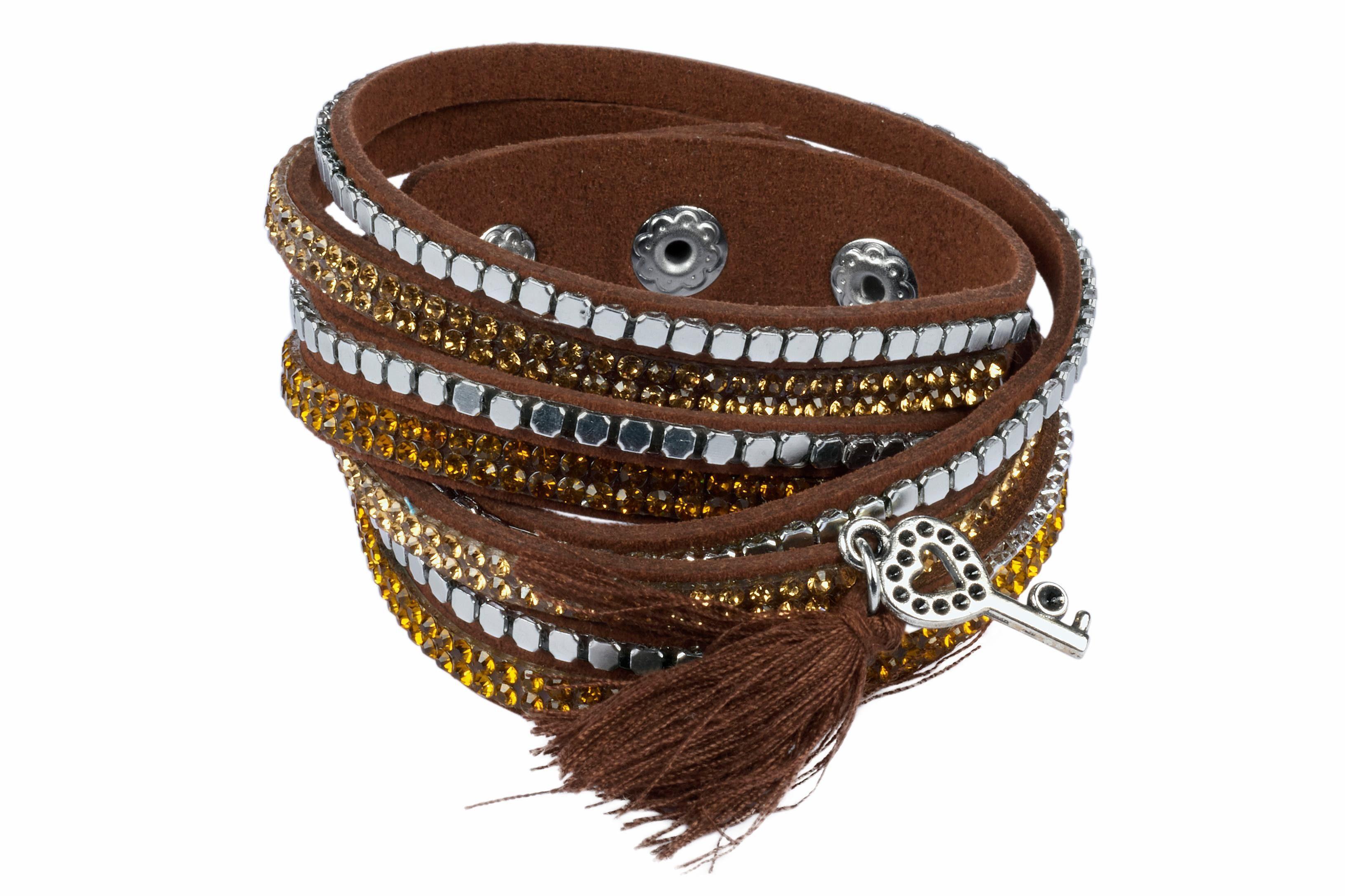 Heine Armband mit Schlüssel-Anhänger