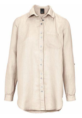 HEINE CASUAL Ilgi marškiniai su užraitotos r...