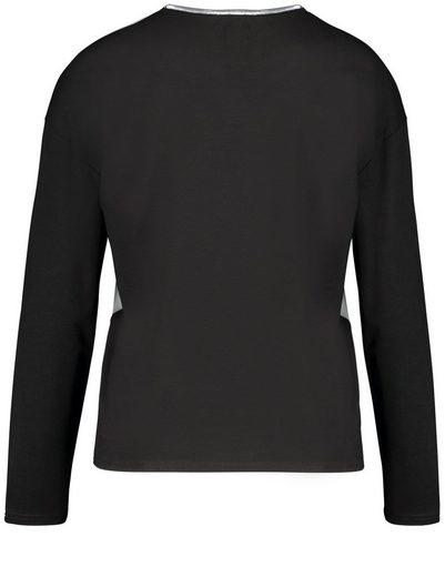 Gerry Weber T-Shirt 1/1 Arm Longsleeve mit Picture Print