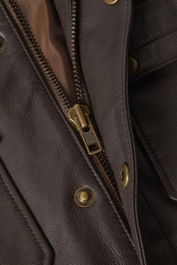 Next Lederjacke mit vier Taschen