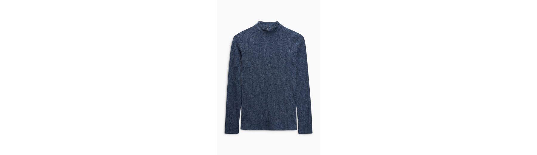 Next Langärmeliges Pointelle-Shirt Verkauf Niedriger Versand Perfekt Professioneller Günstiger Preis Neueste Preiswerte Online Niedrigster Preis Verkauf Online VLyhxj61