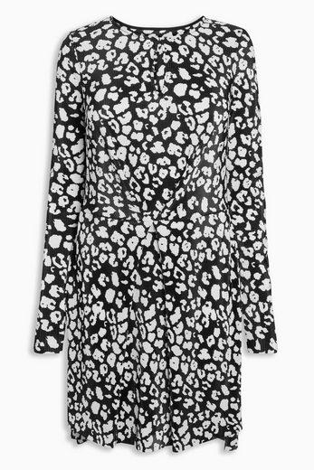 Robe Plissée Suivante Avec Motif Floral