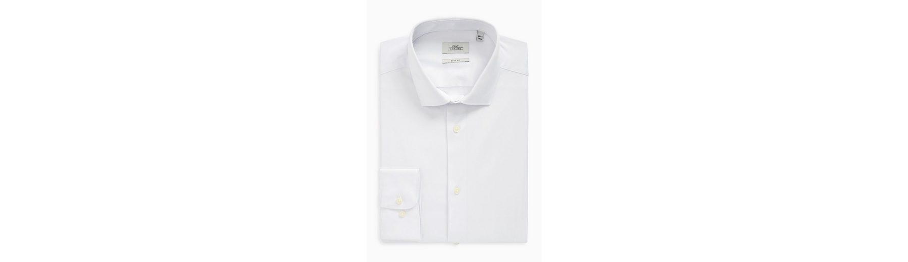Next Pflegeleichtes Slim-Fit Hemd mit Stretch Günstig Kaufen Preis 9Tf05SV3