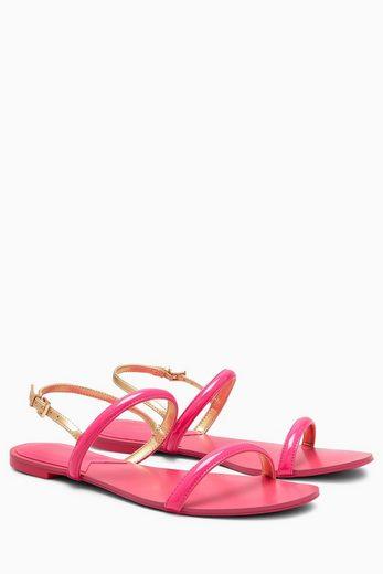 Next Minimalistische flache Sandale