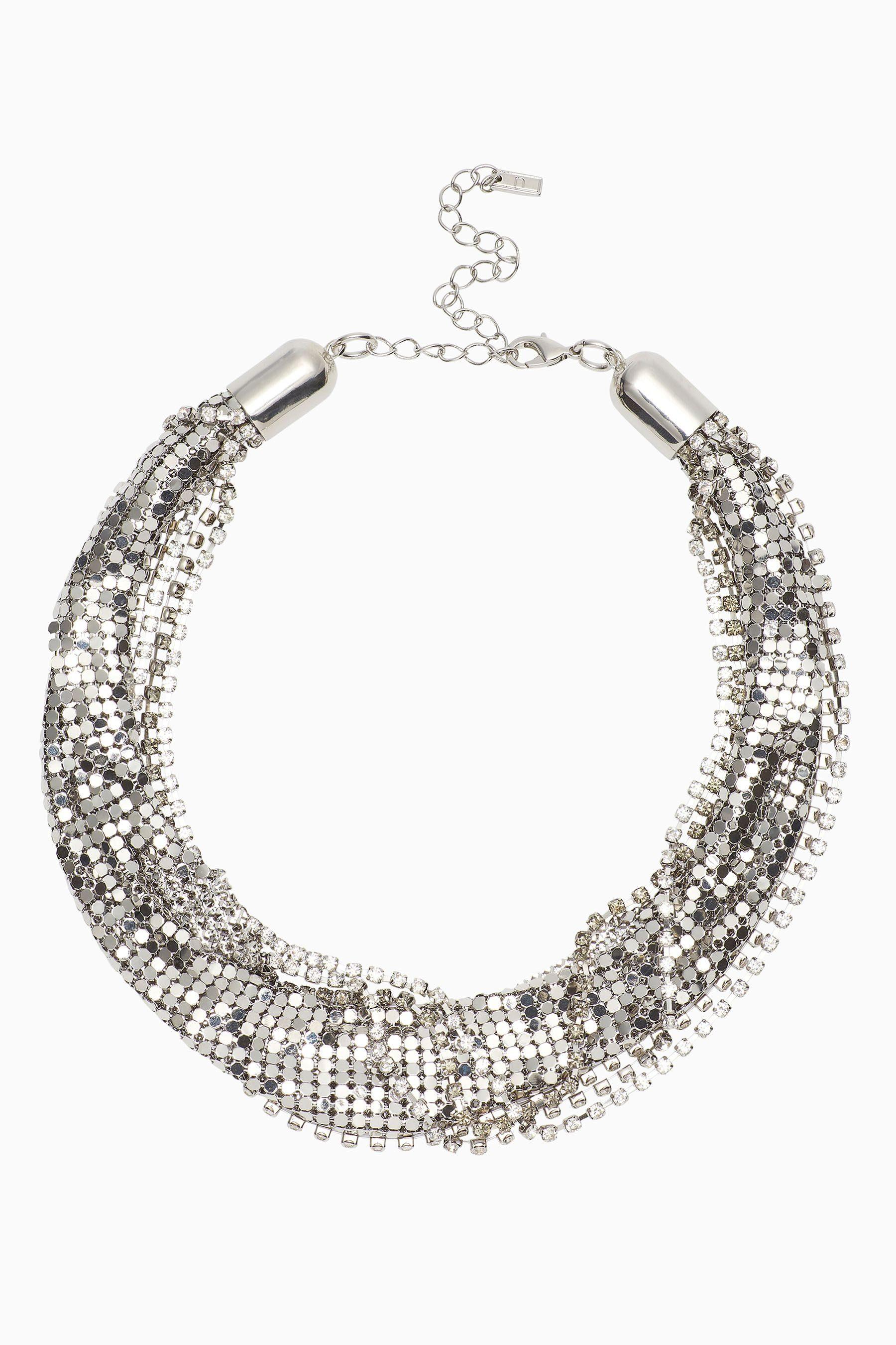 Next Halskette aus Mesh