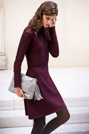 Next Pointelle-Kleid