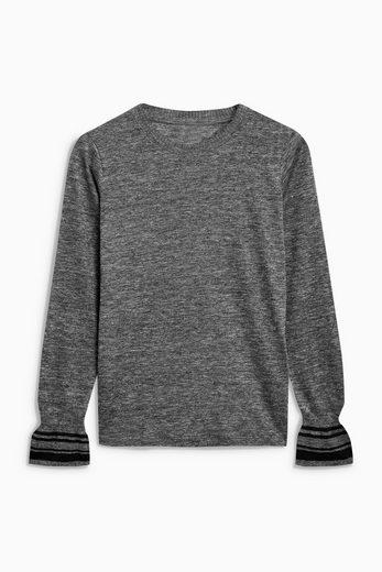Next Pullover in Strickoptik