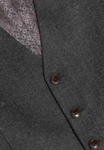 Next Strukturierter Anzug: Weste