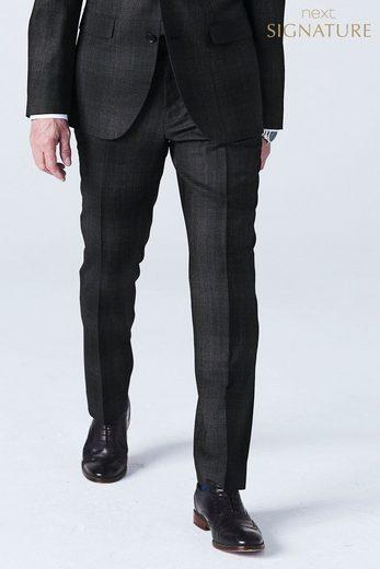 Next Karierte Baukasten-Slim-Fit-Anzughose