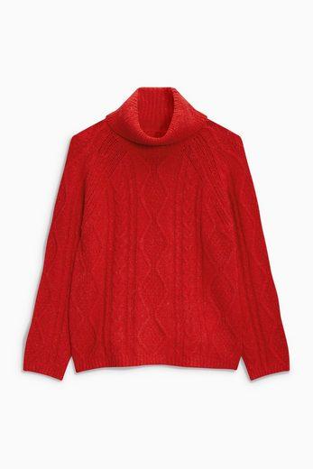 Next Pullover mit Zopfmuster