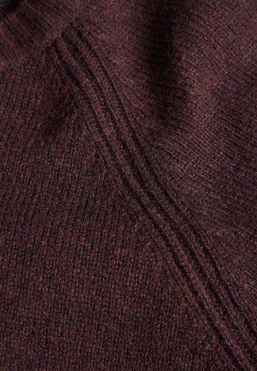 Next Lambswool-Pullover mit Rundhalsausschnitt