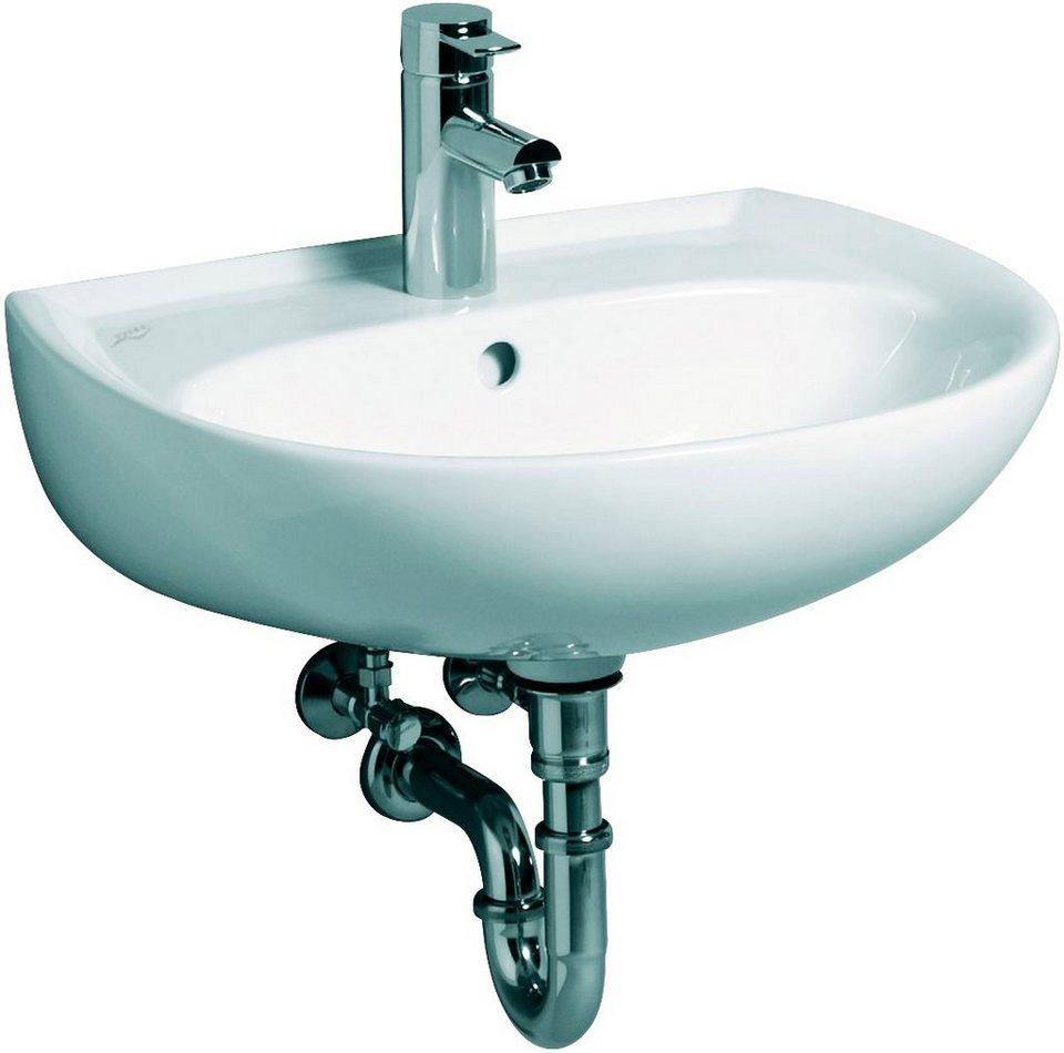 Waschbecken Küche Breite: KERAMAG Waschbecken »Renova Nr. 1«, Breite 55 Cm, Mit Kera