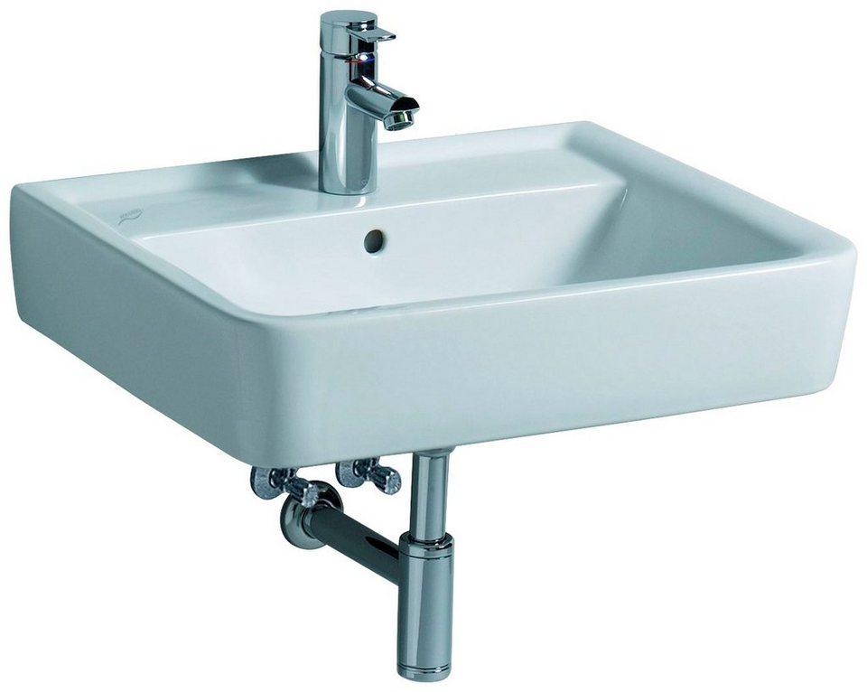 Keramag waschbecken renova nr 1 plan breite 60 cm online kaufen otto - Waschbecken von keramag ...
