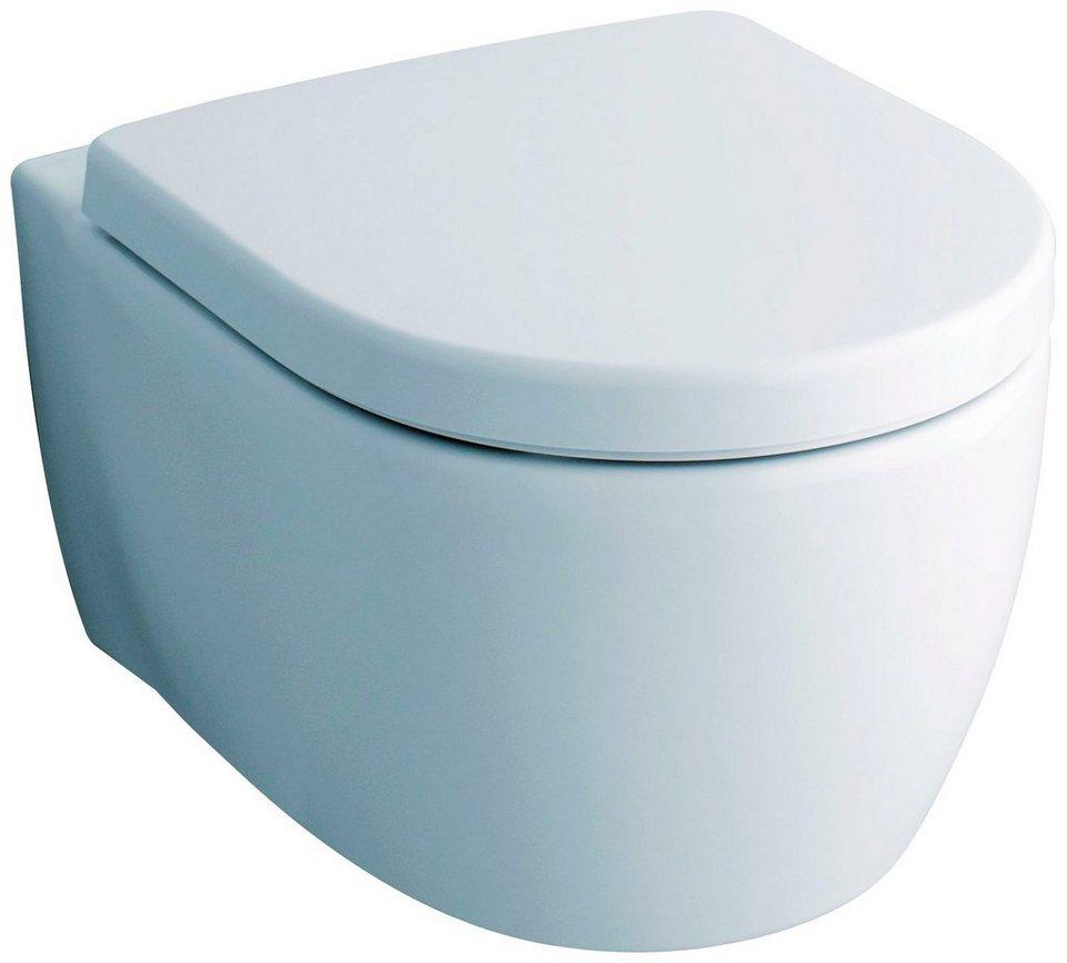 keramag wc sitz icon toilettensitz mit hochwertiger absenkautomatik online kaufen otto. Black Bedroom Furniture Sets. Home Design Ideas