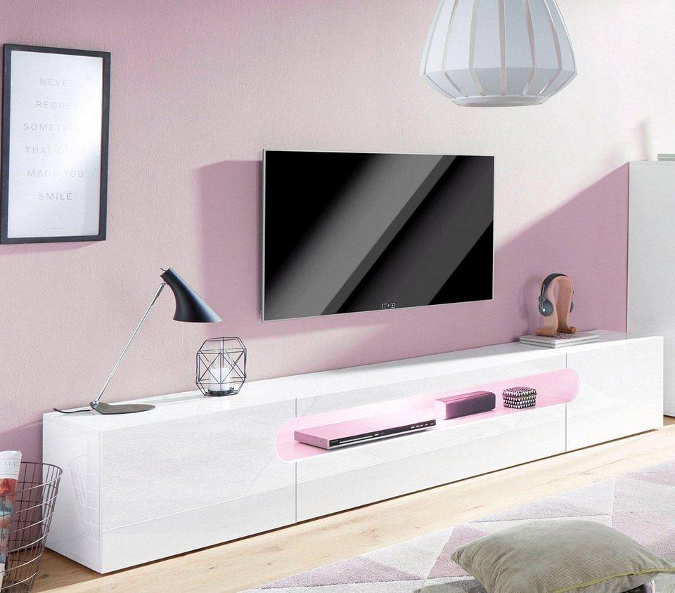 tecnos lowboard real breite 240 cm kaufen otto. Black Bedroom Furniture Sets. Home Design Ideas