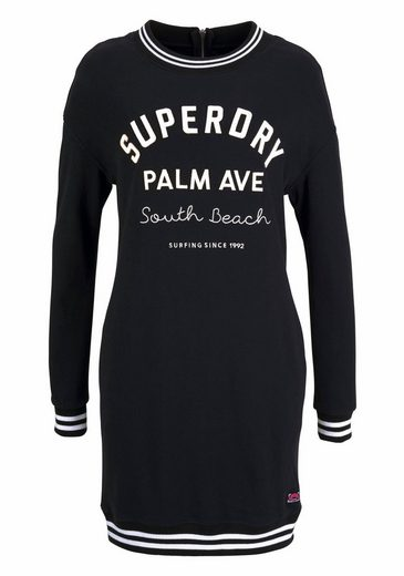 Superdry Sweatkleid Graphique Robe De Sueur, Im College Look