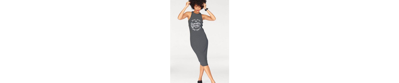 Superdry Jerseykleid PACIFIC BODYCON DRESS, in Streifenoptik