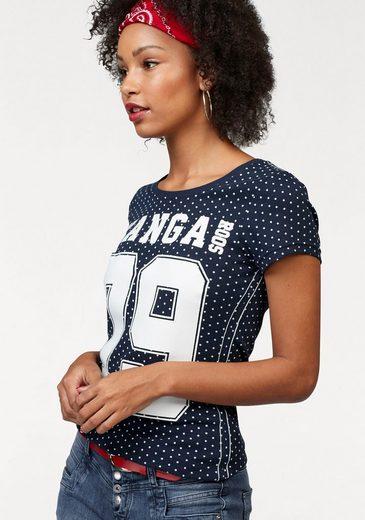 KangaROOS T-Shirt, im Allover-Design mit Frontprint