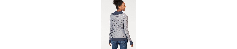 Sweatshirt Kolibri mit im Print Allover KangaROOS Druck Front KangaROOS Allover im Sweatshirt U6FqCIxww