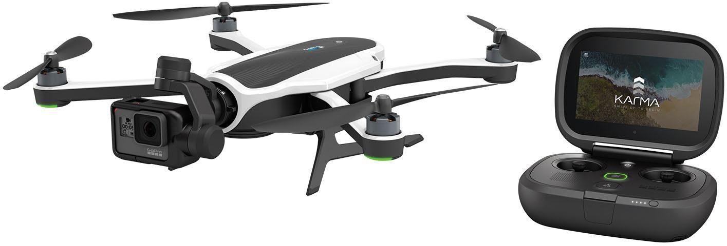 GoPro Karma + Hero5 4K (Ultra-HD), GPS, WLAN, Bluetooth