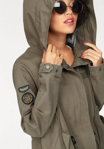 Superdry Parka BONDED ROOKIE PARKA, im Military Style