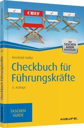 Broschiertes Buch »Checkbuch für Führungskräfte«