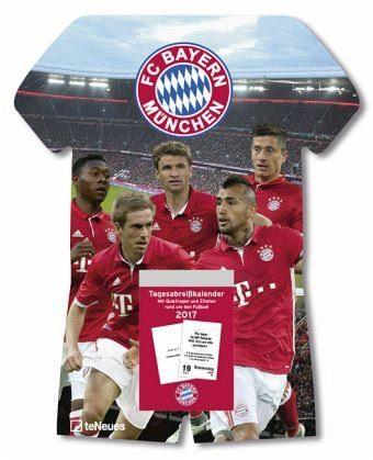 Kalender »FC Bayern München Tagesabreißkalender 2018«