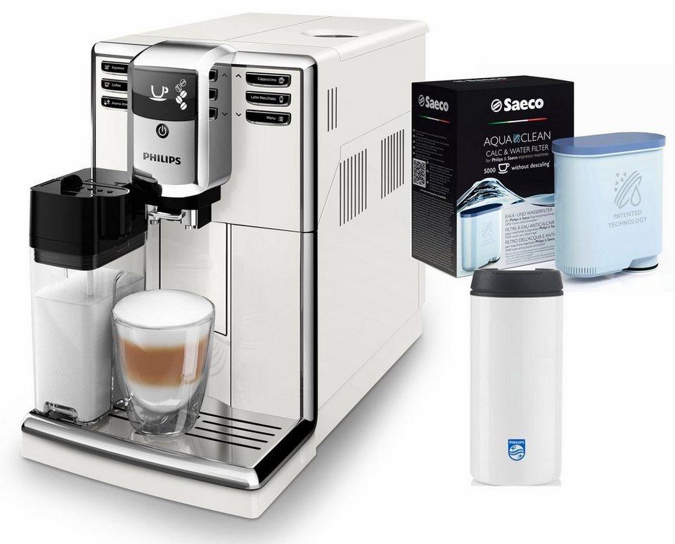 philips kaffeevollautomat 5000 serie ep5961 10 1 8l tank scheibenmahlwerk wei online kaufen. Black Bedroom Furniture Sets. Home Design Ideas