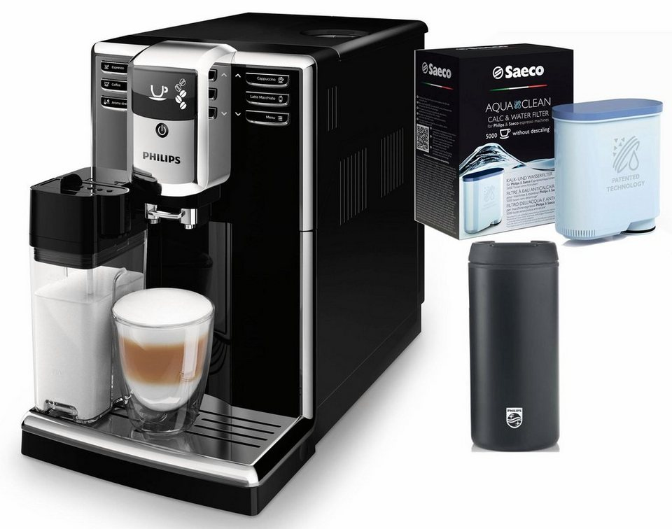 philips kaffeevollautomat 5000 serie ep5960 10 1 8l tank. Black Bedroom Furniture Sets. Home Design Ideas