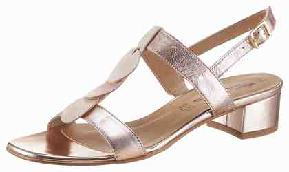 Tamaris Sandalette, im Metallic-Look