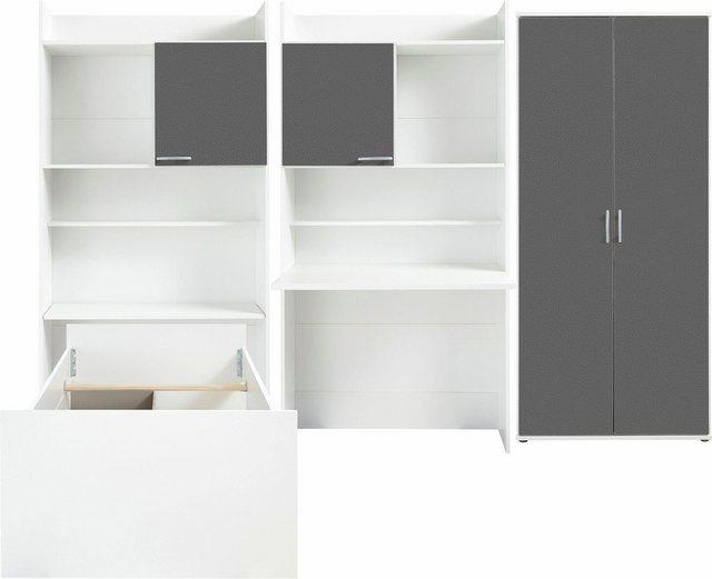 Komplettzimmer - rauch BLUE Jugendzimmer Set »Emilio«, (Set, 4 tlg)  - Onlineshop OTTO