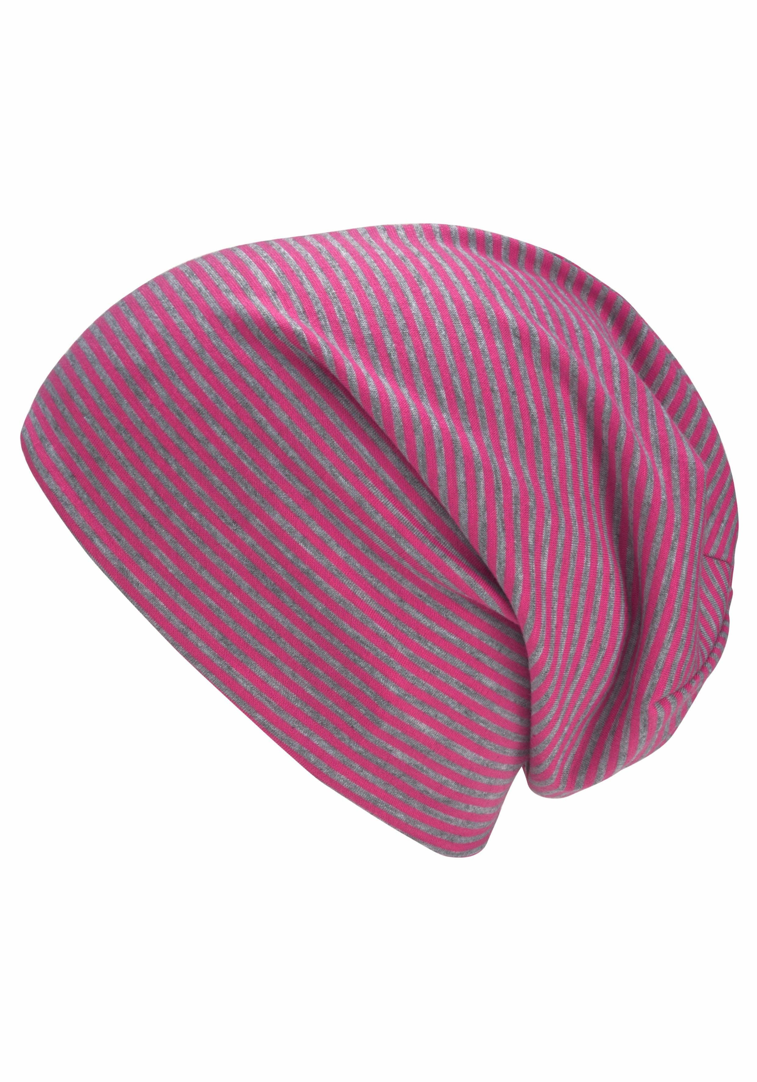 Colours Cosmetic Beanie, Jersey Beanie, Oversize