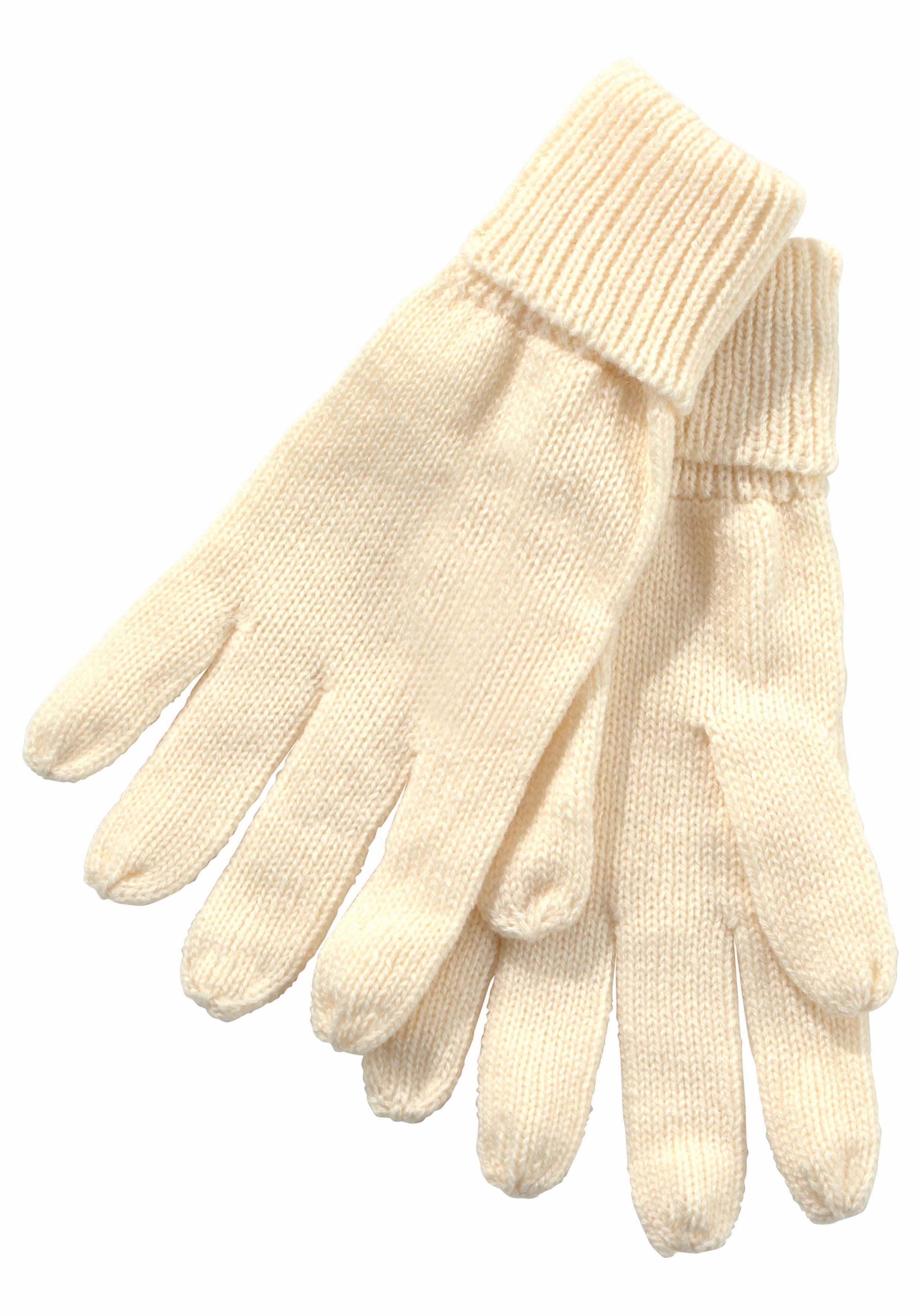 J.Jayz Strickhandschuhe Feinstrick, Fingerhandschuhe