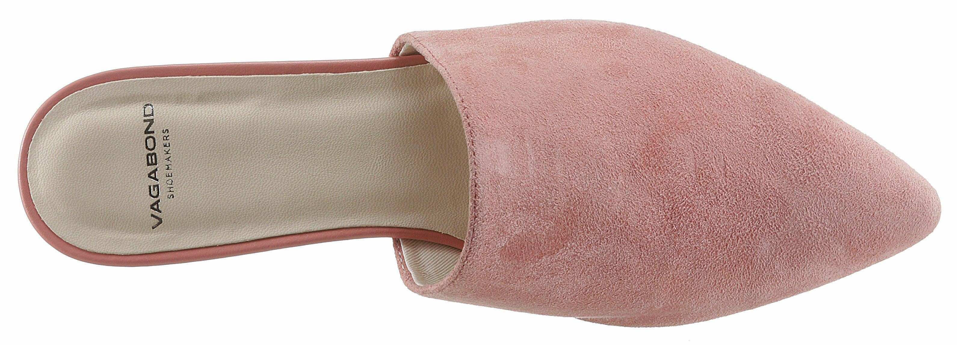 Vagabond Pantolette, in spitzer Form online kaufen  rosé