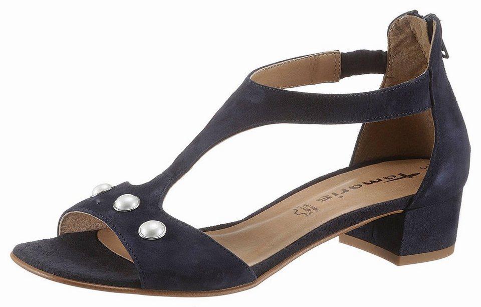 0c7a2564f24391 Tamaris Sandalette mit schöner Verzierung kaufen