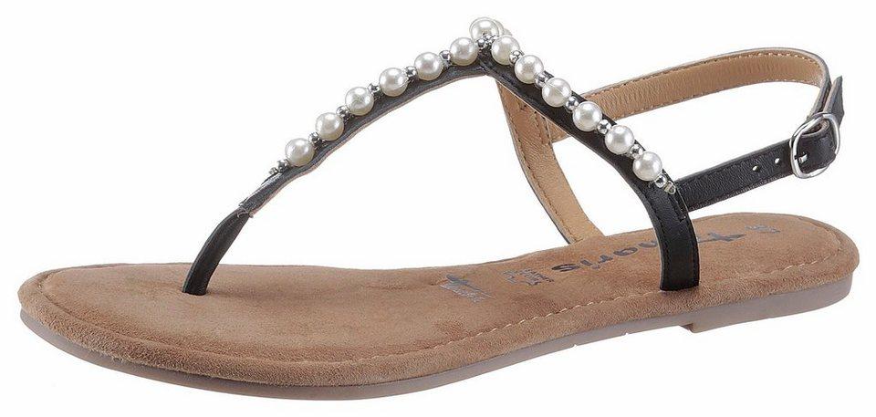 7086f2fafd23 Tamaris Sandale mit geschmückten Riemchen kaufen   OTTO
