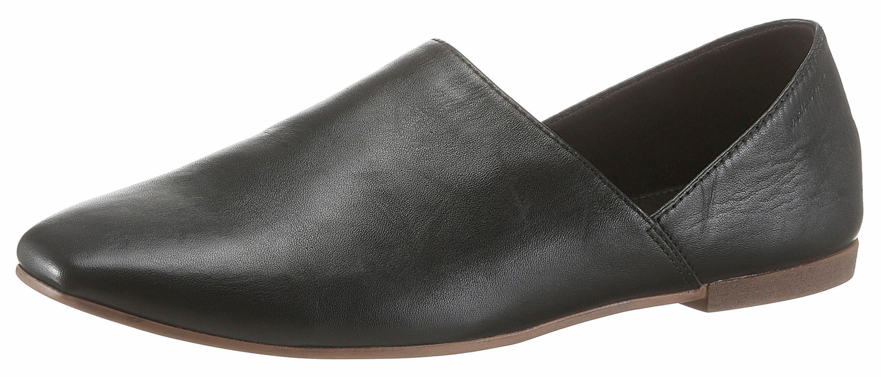 Vagabond Slipper, in eleganter Form online kaufen  schwarz