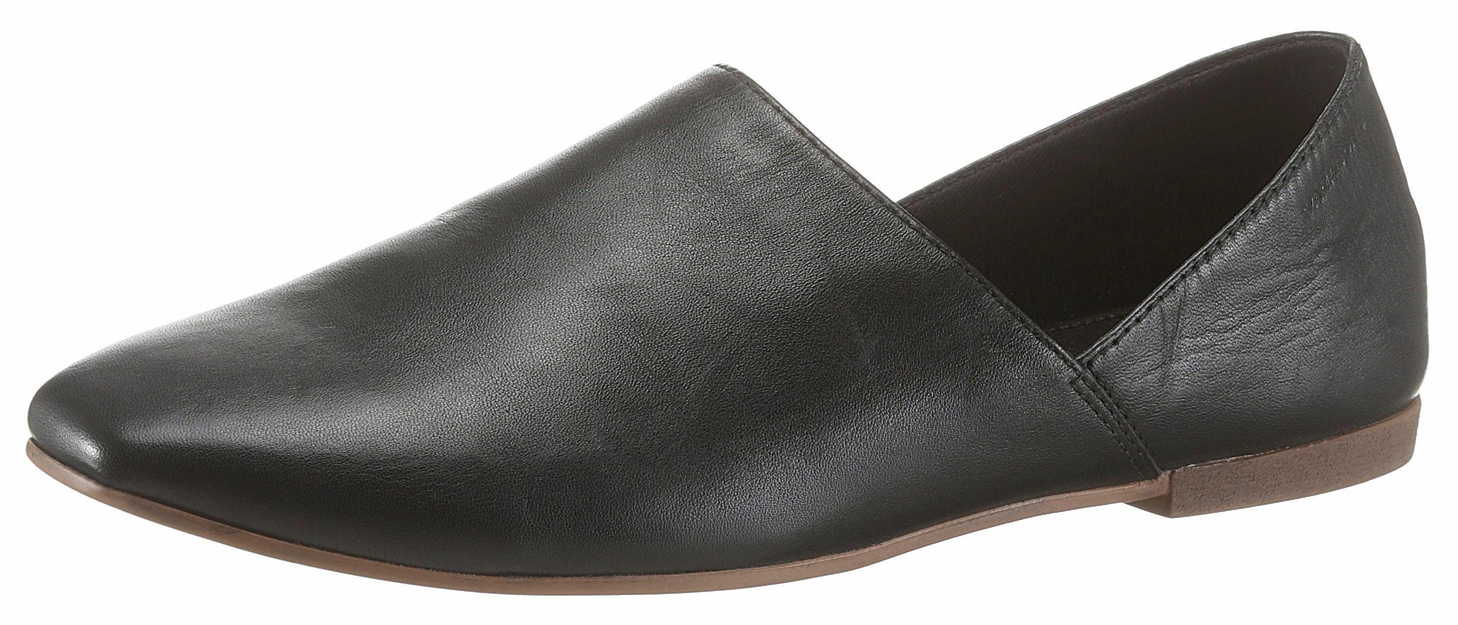 Vagabond Pantolette, in spitzer Form, schwarz, EURO-Größen, schwarz
